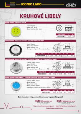 Informační leták - KINEX Measuring