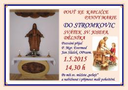 Stromkovice 1 .5. 2015