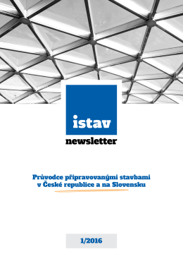 ISTAV newsletter 1-2016
