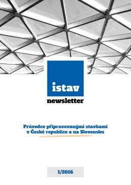 ISTAV newsletter 1-2016