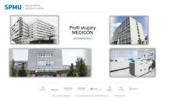 Profil skupiny MEDICON