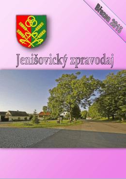 JZO březen 2015 - Obec Jenišovice
