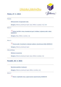 ukázka jídelníčku duben 2015 - zakladniskola.bohemia