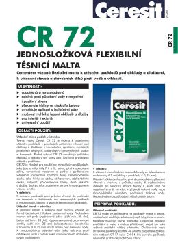 CR 72 - Ceresit