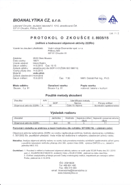 Monitoring PiVo č.8935-15