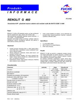 Renolit G 460