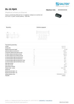 Datasheet OTH-DL-1GRJ45