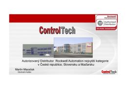 Autorizovaný Distributor Rockwell Automation nejvyšší kategorie v