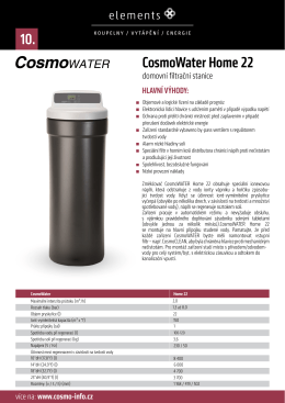 CosmoWater Home 22 10.