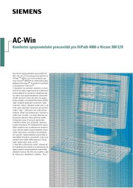 AC-Win - Siemens, s.r.o.
