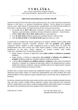 Vyhláška výběr témat 2015 M(L)-EEN