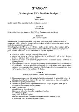 Stanovy SPŠ 2015 - Základní škola Vojtěcha Martínka Brušperk