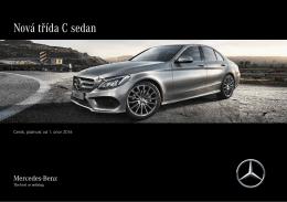 Nová třída C sedan - Mercedes-Benz