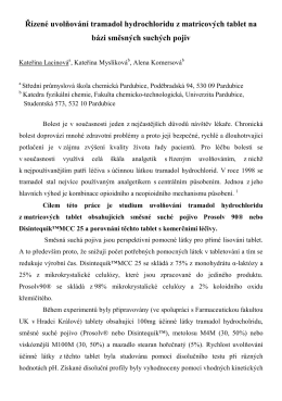 Abstrakt - Projekty - Univerzita Pardubice