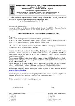Rada starších Náboženské obce Církve československé husitské v
