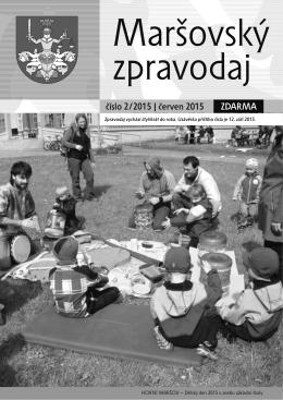 Maršovský zpravodaj 2-2015