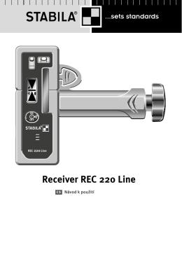 Receiver REC 220 Line