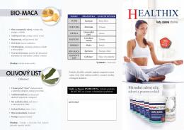 Healthix leták 10 ks