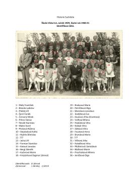 Identifikace - Historie Suchdola