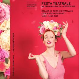 FESTA TEATRALE - Concentus Moraviae