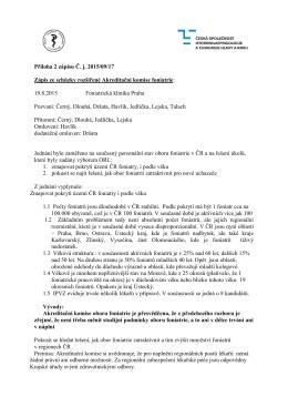 Příloha 2 - Jednání Akreditační komise foniatrie