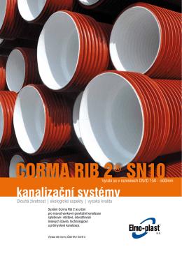 Kanalizační systém Corma Rib 2® SN10 - Elmo