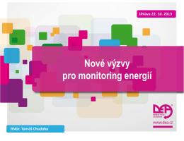 Zavadeni systemu monitoringu energii