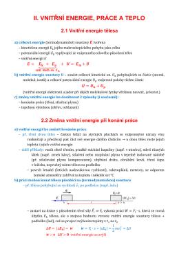 II Vnitřní energie, práce a teplo (1990957)
