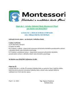 zde - Montessori Plzeň