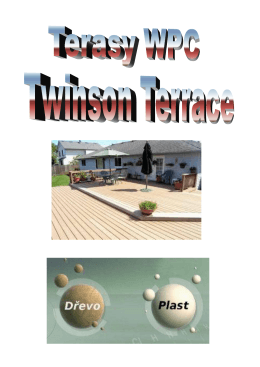 Terasy WPC Twinson Terrace