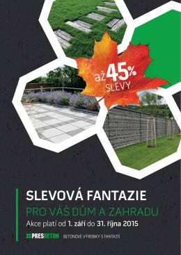 Podzimní slevy pro Váš dům a zahradu 2015 - CZ [PDF