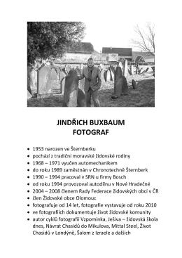 JINDŘICH BUXBAUM FOTOGRAF