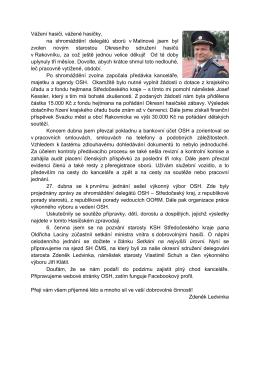 Hasičský zpravodaj červen 2015