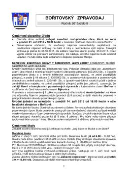 Zpravodaj 9/2015