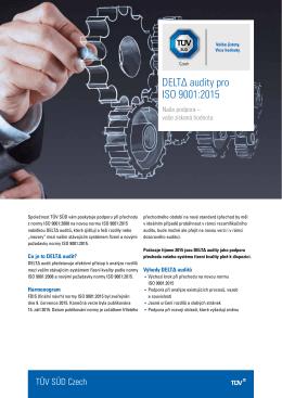 DELTΔ audity pro ISO 9001:2015