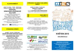 zde - Městské informační a kulturní středisko Krnov