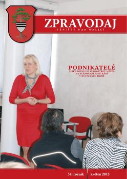 Týnišťský zpravodaj - Květen 2015