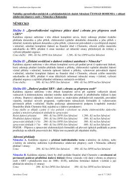 Nabídka služeb zdaňování přepravy osob 7.7.2015