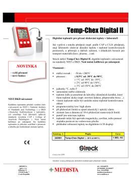STRECK Temp Chex II.