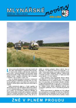 Mlynářské noviny 3_2015 - Svaz průmyslových mlýnů ČR