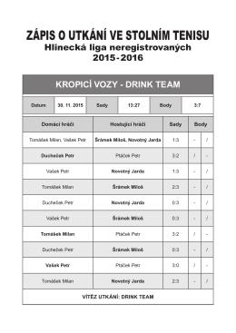 Kropici vozy - Drink Team.indd