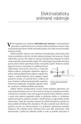 Elektrostaticky snímané nástroje