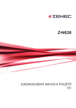 Z-N626 - Zenec