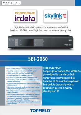SBI-2060 - Topfield