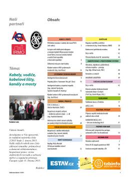Elektroinstalatér 1/2015 - TZB-info