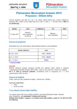 2015 PMK propozice detske behy_Parma
