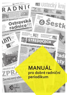 Manuál pro dobré radniční periodikum