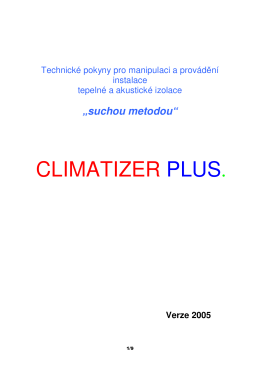CLIMATIZER PLUS.