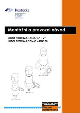 JUDO-PROFIMAT PLUS 0,75 - DN100