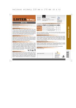 Lister Fe Plus 80 SL